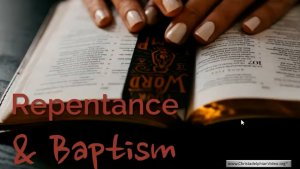 Two Steps to Salvation: Repentance and Baptism