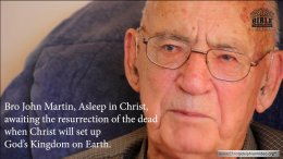 The Providence of God in my life. John Martin interview from 2015.