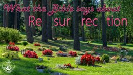 What does the Bible say about...Resurrection ( In 6 minutes)