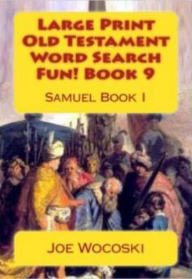Large Print Old Testament Word Search Fun! Book 9: Samuel Book I