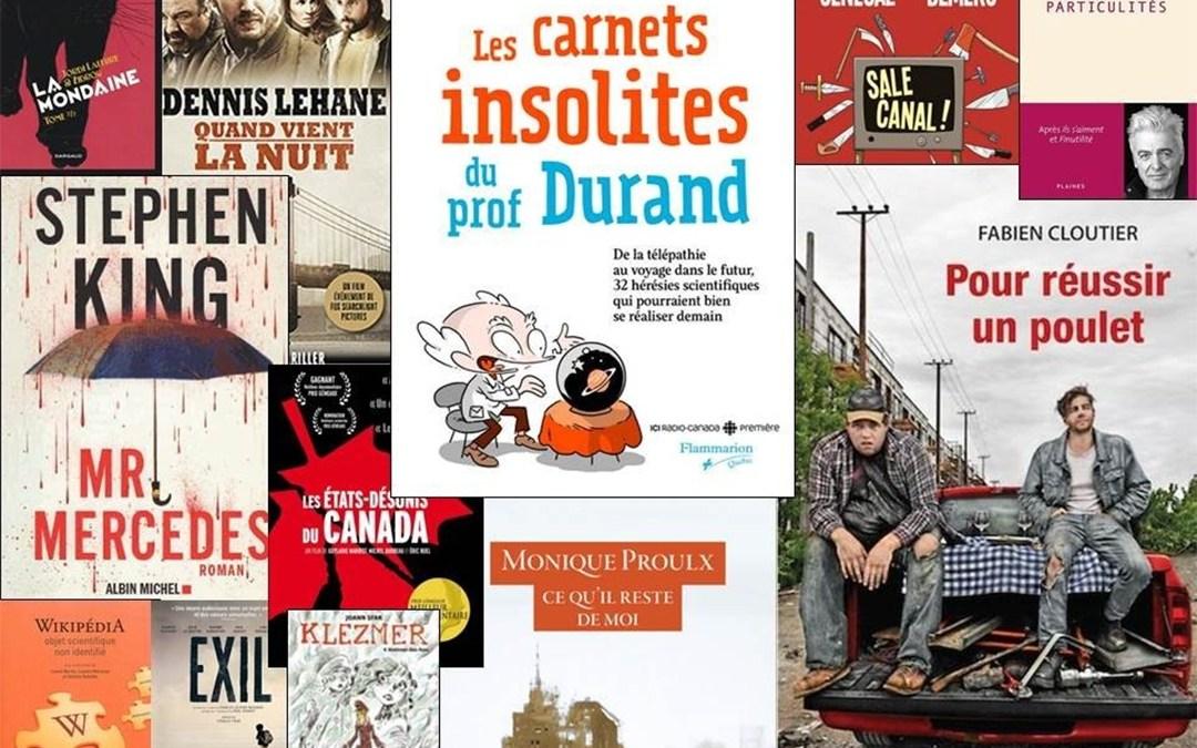 Nouveautés – Campus Longueuil – 28 mai 2015