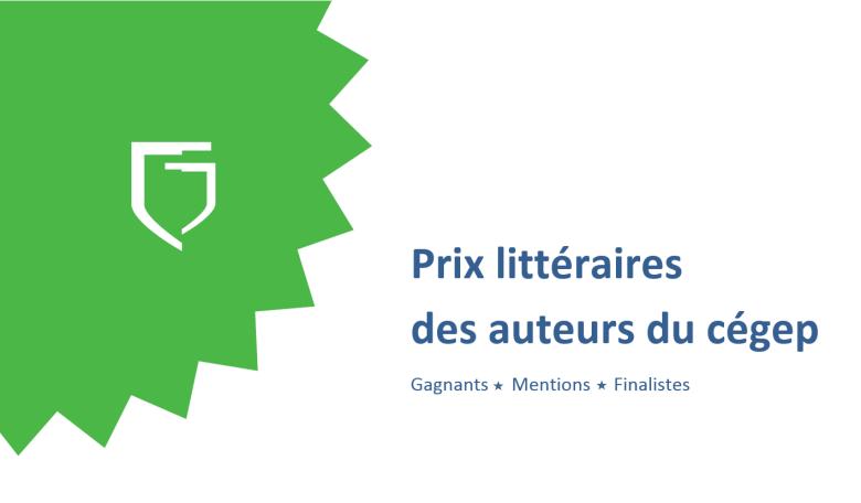 Prix littéraires des auteurs du cégep