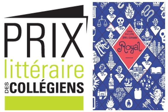 «Royal» de Jean-Philippe Baril Guérard remporte le Prix littéraire des collégiens 2018