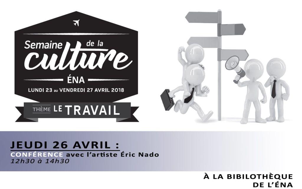 Semaine de la culture ÉNA – Conférence ce jeudi