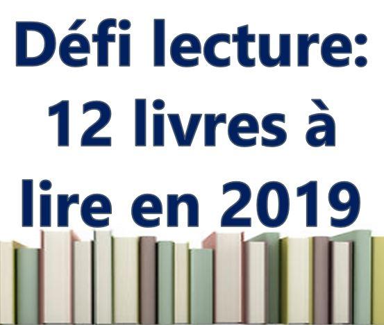 Défi lecture : 12 livres à lire en 2019