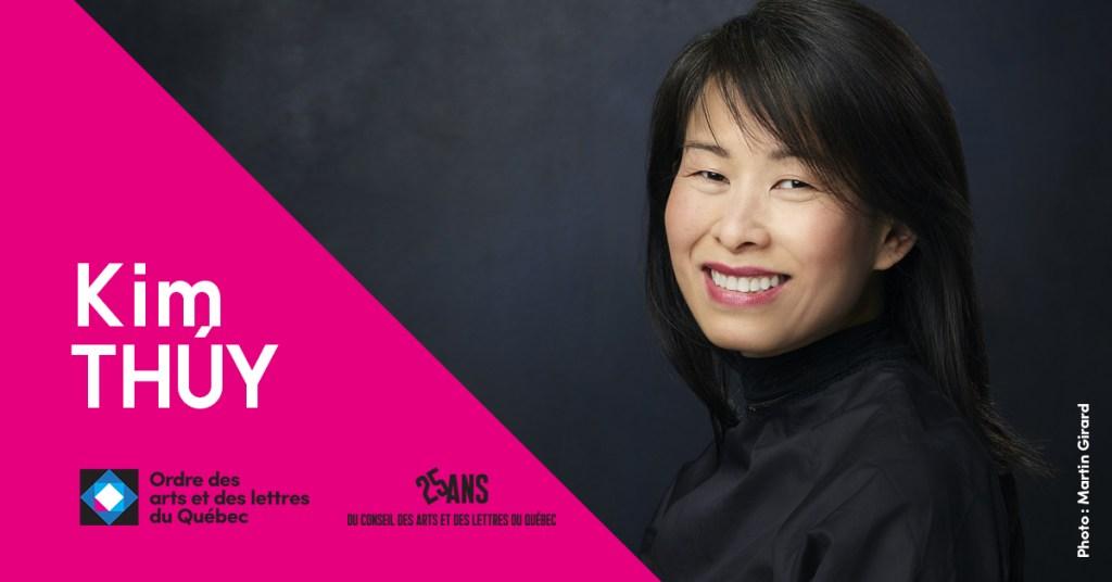 Kim Thúy, nouveau membre de l'Ordre des arts et des lettres du Québec