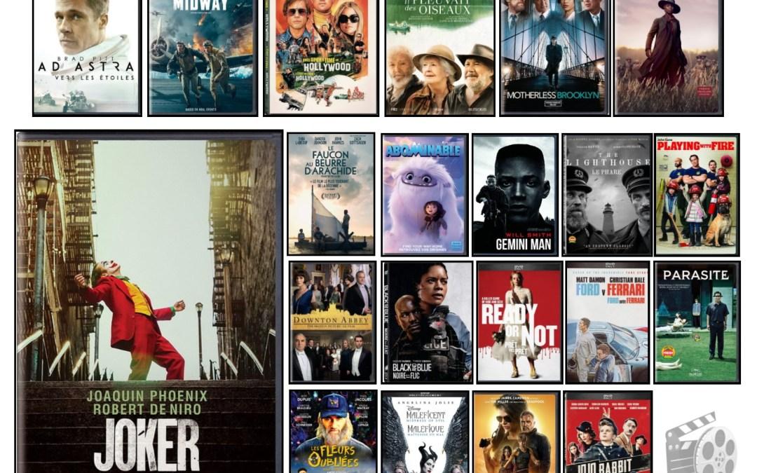 Nouveautés – Films à l'ÉNA – octobre 2020