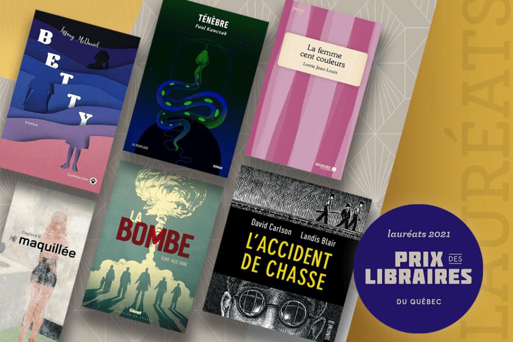 Lauréats des Prix des libraires 2021