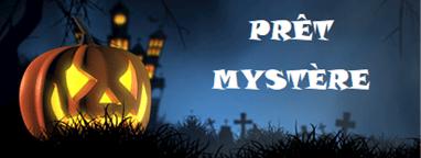 Prêts mystères pour l'Halloween !
