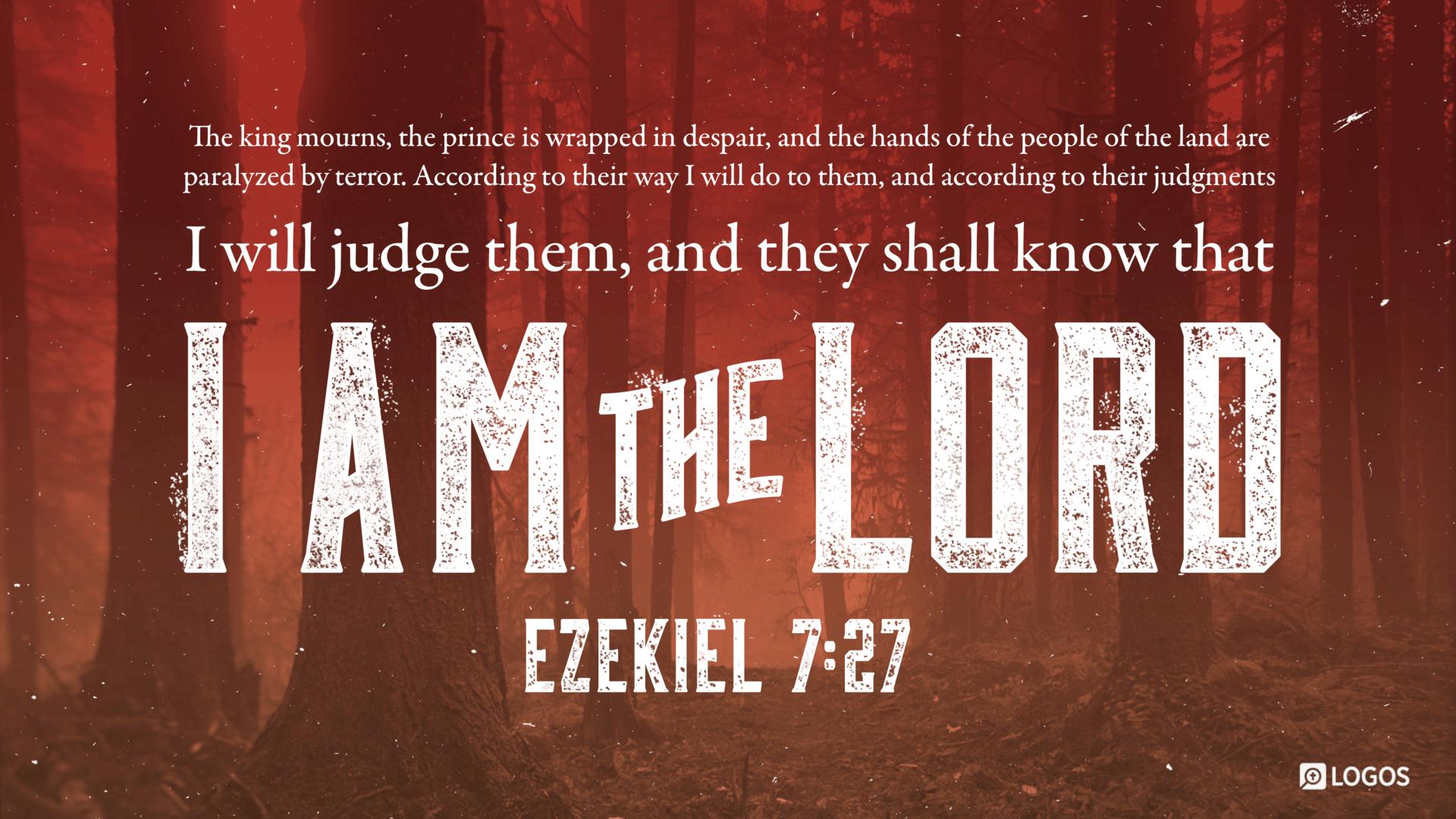 Ezekiel 7:27