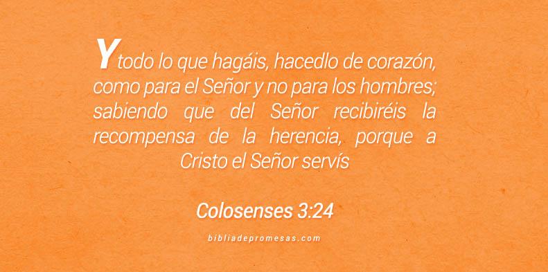 Colosenses 3:24