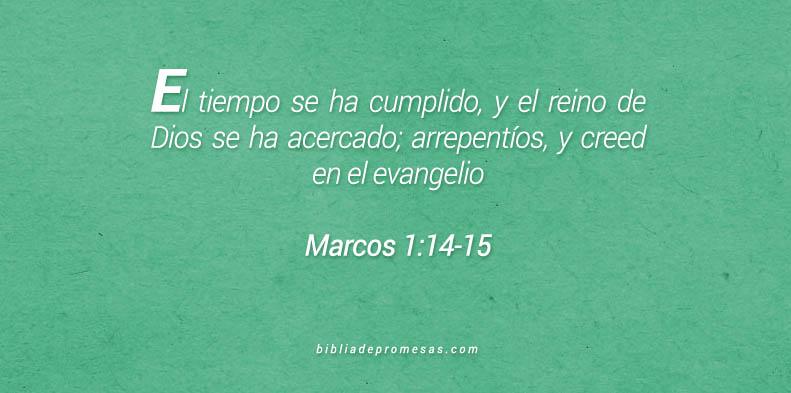 Marcos 1:14-15