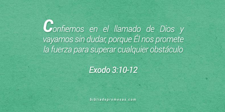 Éxodo 3:10-12