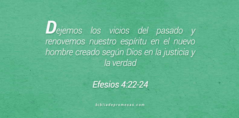 Efesios 4:22-24