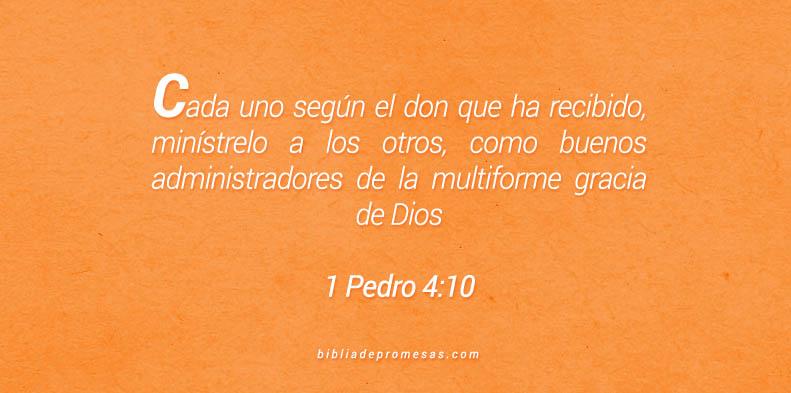 1 Pedro 4:10