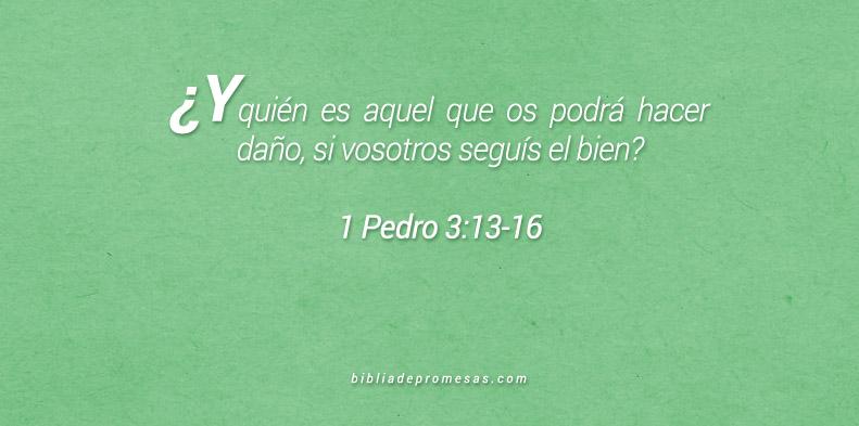 1 Pedro 3:13-16