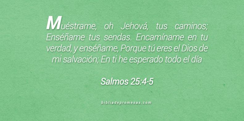 Salmos 25:4-5