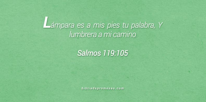 Salmos 119:105