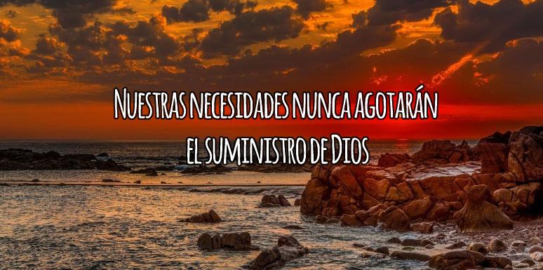 Dios Suple Nuestras Necesidades