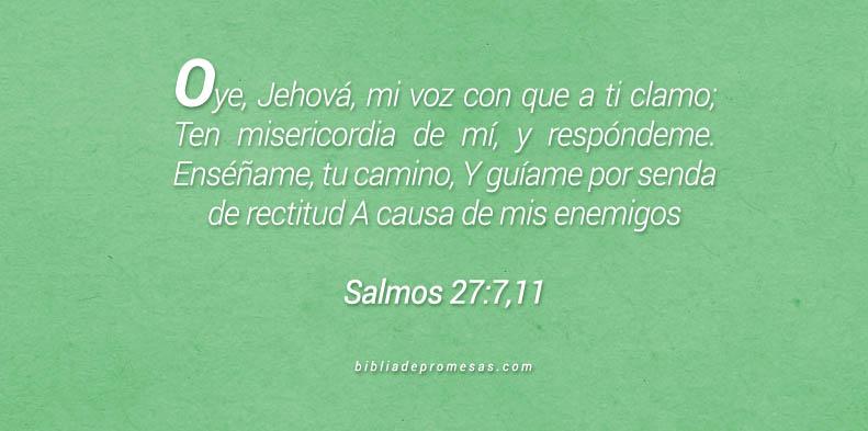 Salmos 27:7