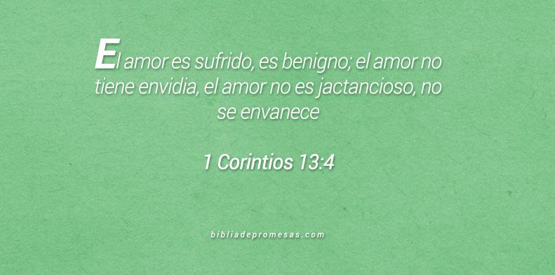 1 Corintios 13:4