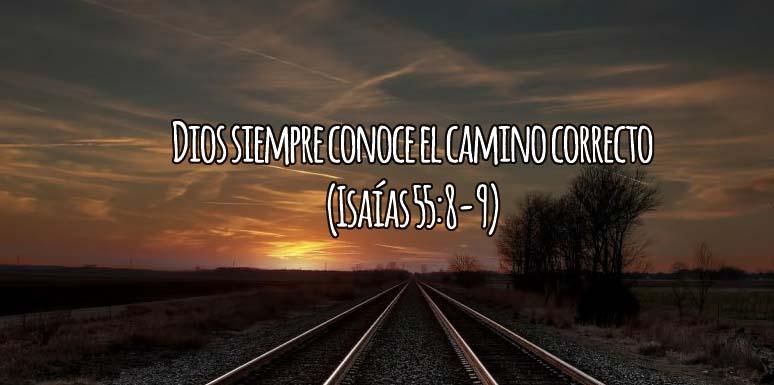 Dios conoce el camino