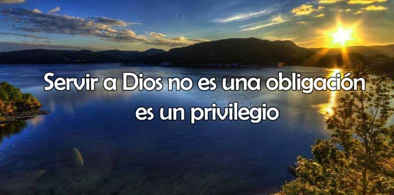 Servir a Dios