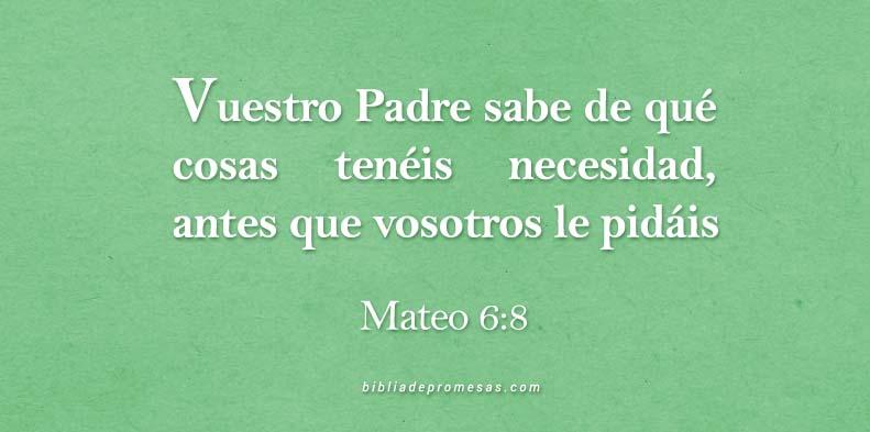 Mateo6-8