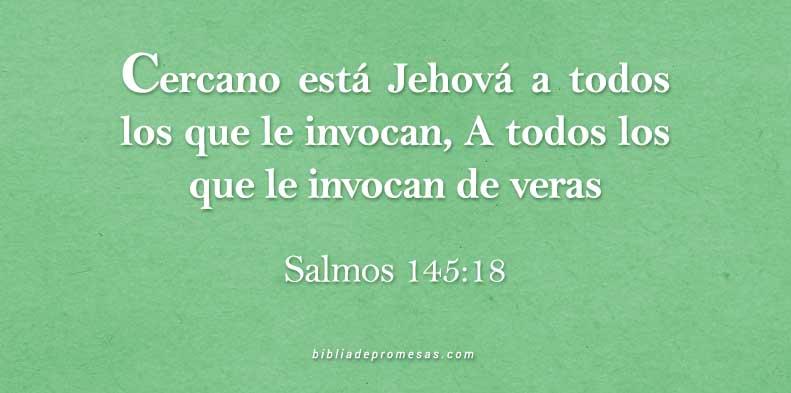 Versículo del Dia Salmos 145 18