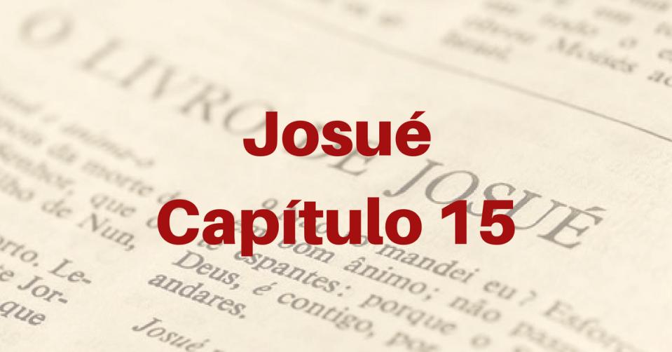Josué Capítulo 15