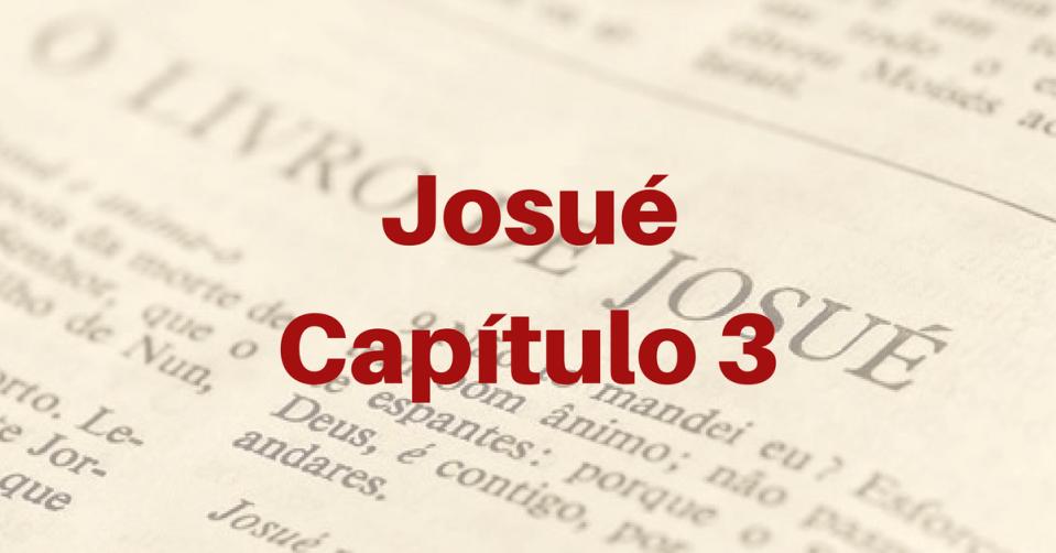 Josué Capítulo 3