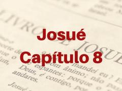 Josué Capítulo 8
