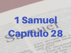 1 Samuel Capítulo 28