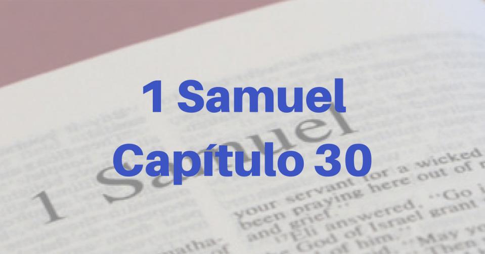 1 Samuel Capítulo 30