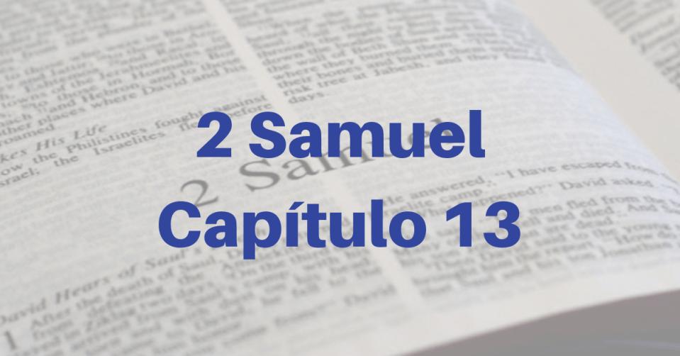 2 Samuel Capítulo 13