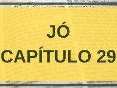 Jó Capítulo 29