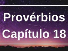 Provérbios Capítulo 18