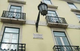 Casa onde nasceu Fernando Pessoa