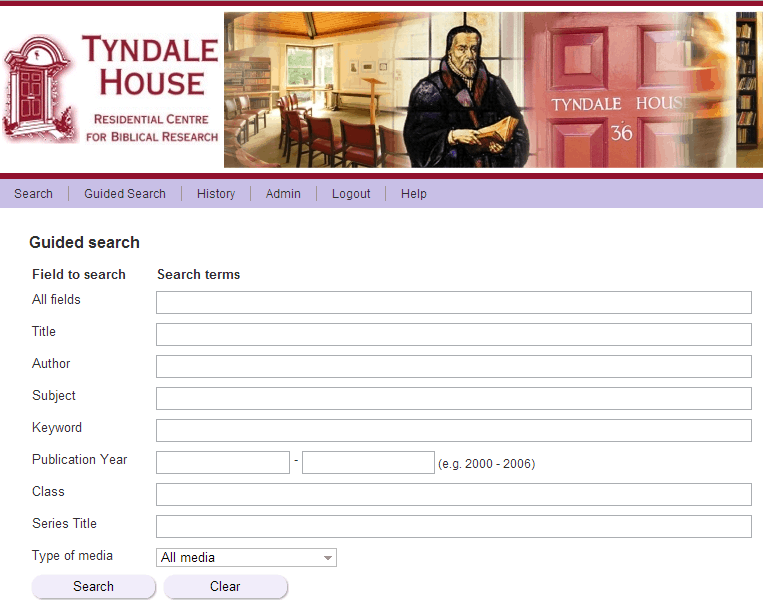 Tyndale House Global Library Project 1