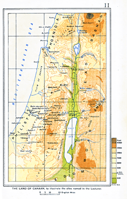 C.F. Burney on Israel's Settlement in Canaan 1