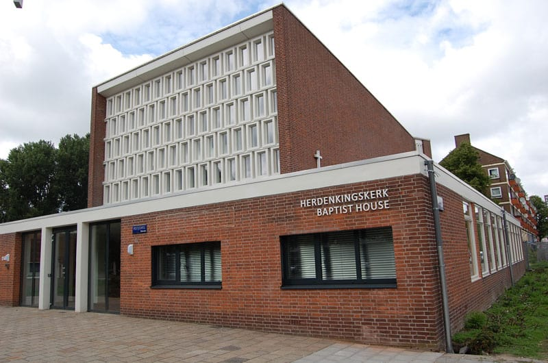 Baptist House where IBTSC Amsterdam is located