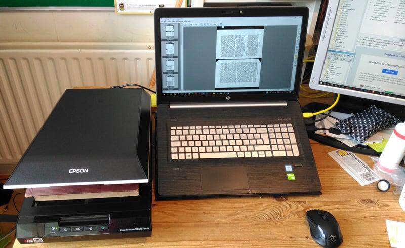 Epsom Perfection V600 scanner