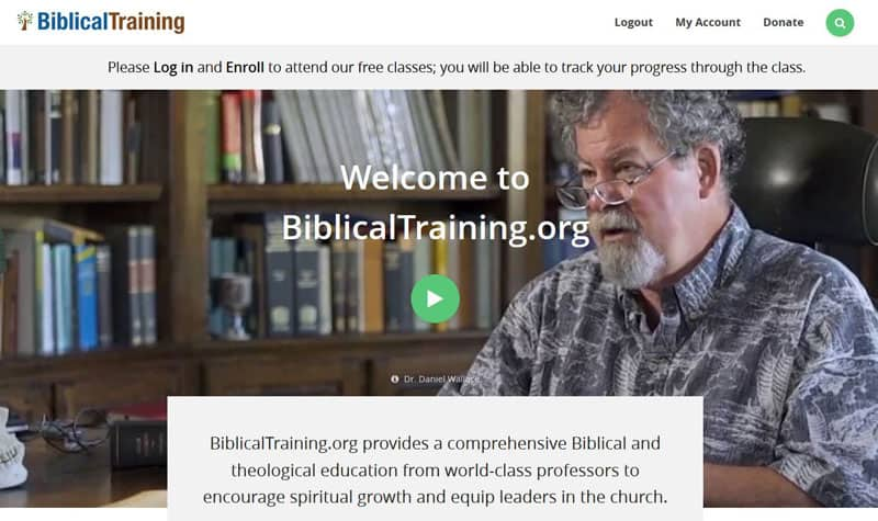 Free Online Biblical Training Courses 1