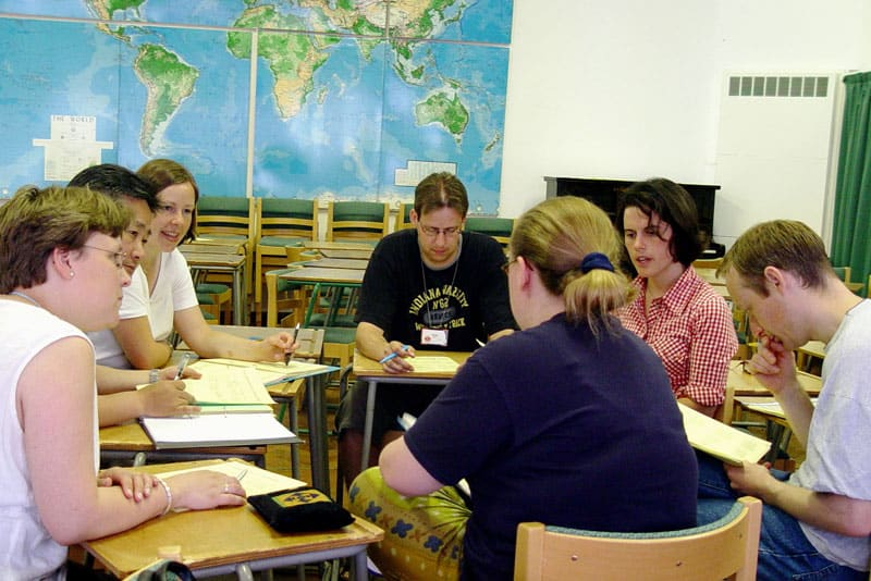 A typical class at All Nations