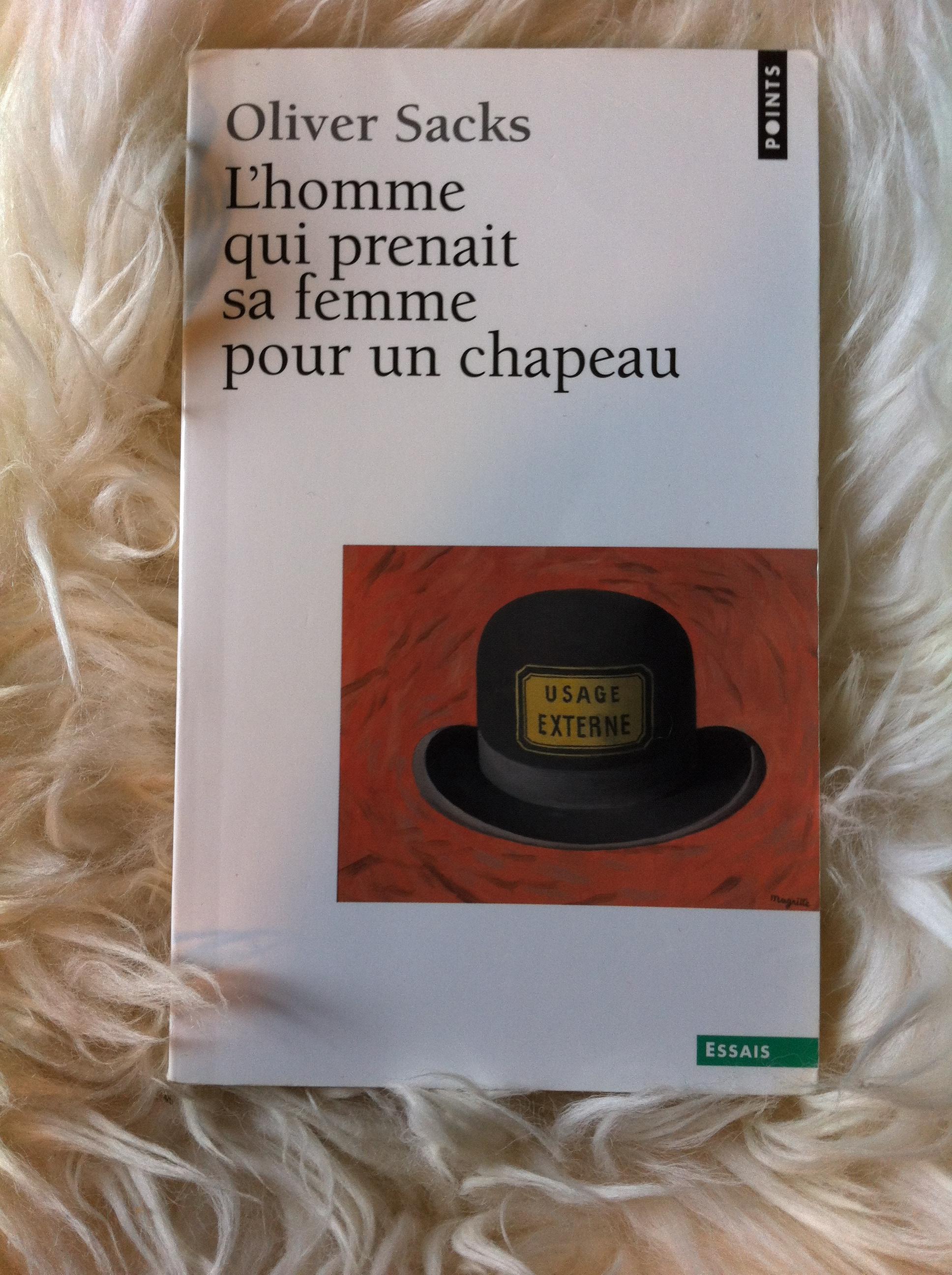 L'homme Qui Prenait Sa Femme Pour Un Chapeau : l'homme, prenait, femme, chapeau, L'homme, Prenait, Femme, Chapeau, Bibliothèque, Neuropsychologue