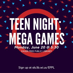 Teen night- Mega games