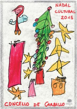 2º premio de 100€, de Lola Castro Varela (6 anos) do CEIP A Cristina