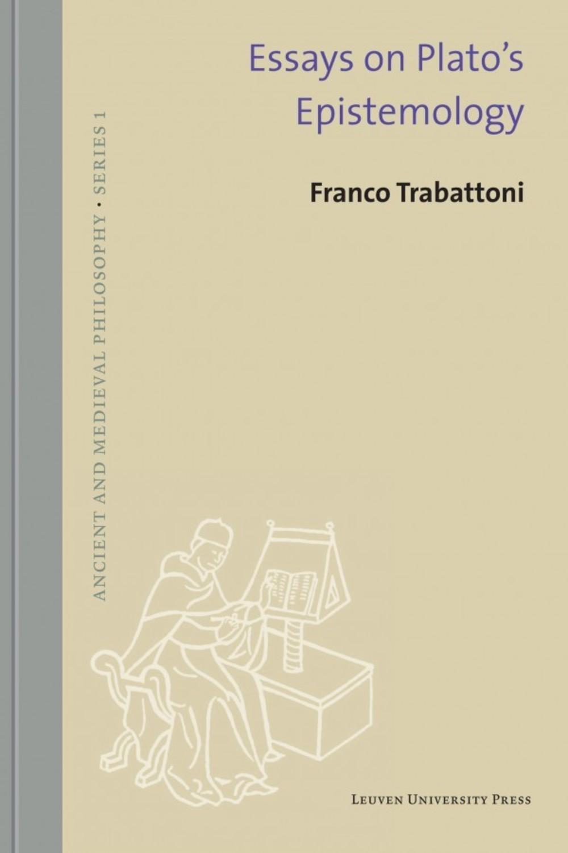 hight resolution of essays on plato s epistemology