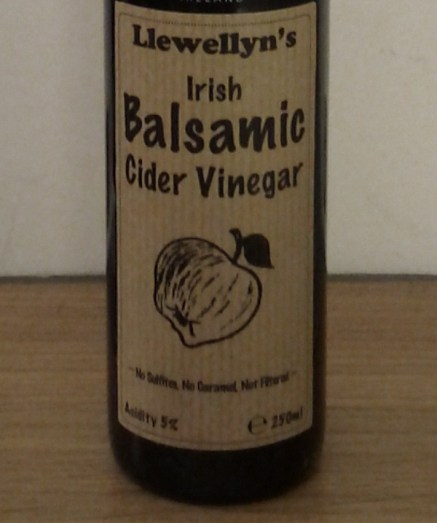 Llewellen's Irish Balsamic Cider Vinegar