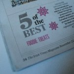 Five foodie treats under €10: The Irish Times Christmas Supplement 2012